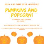 pumpkins and popcorn