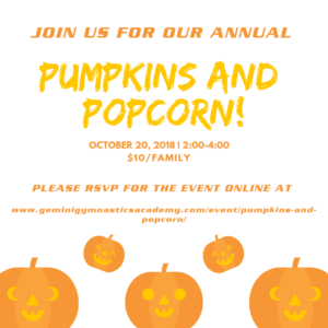 pumpkins and popcorn