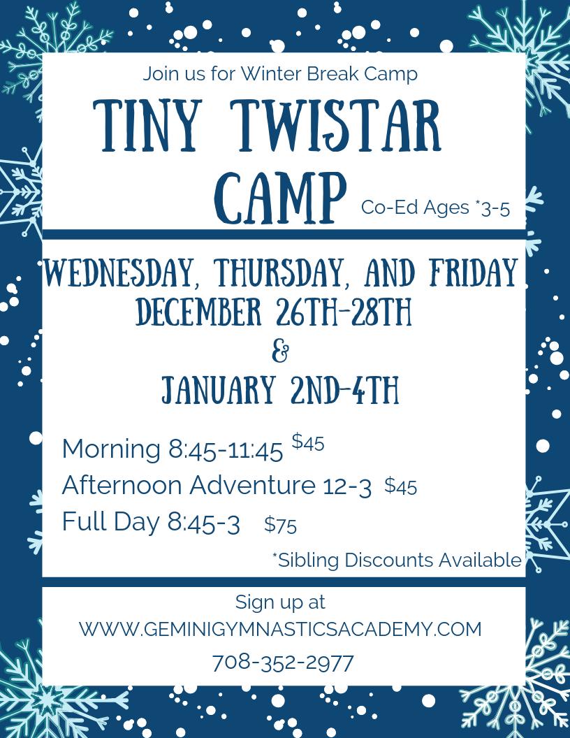 Tiny Twistar Camp