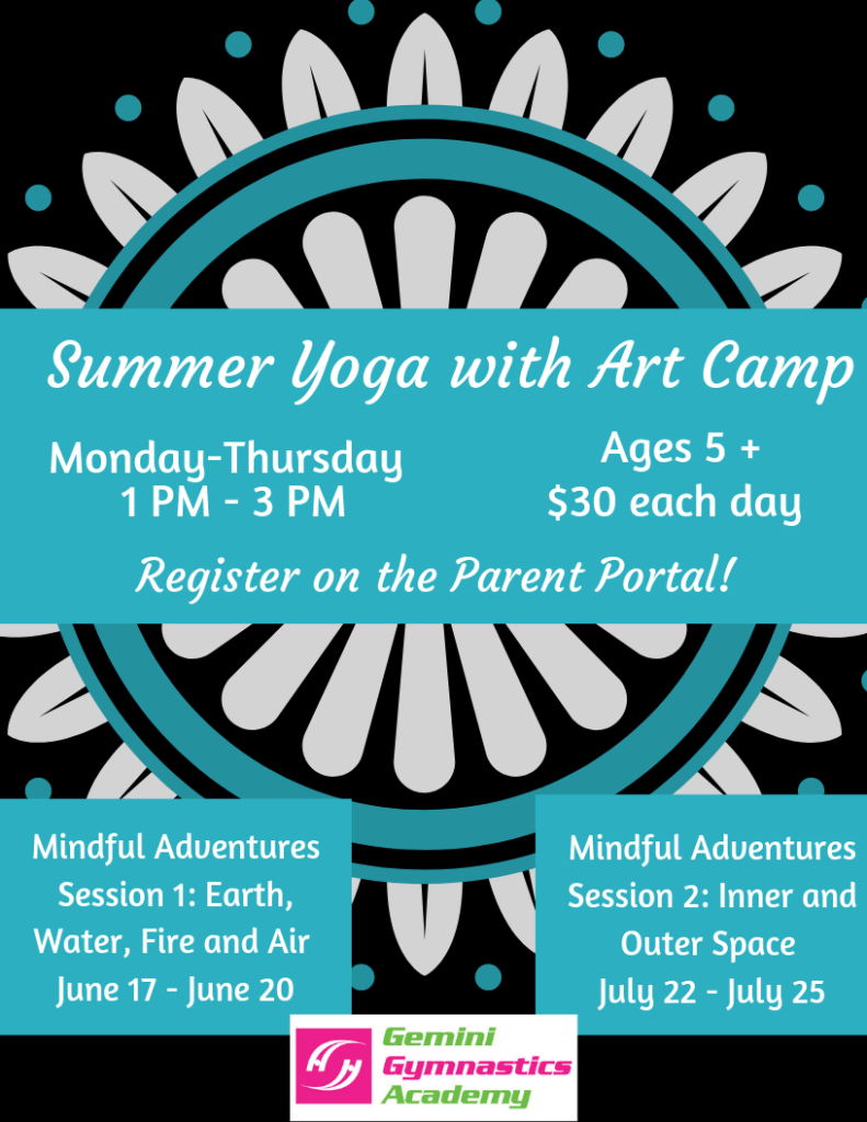 Summer Yoga and Art Camp