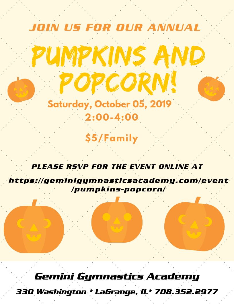 2019 pumpkins and popcorn