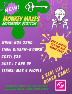 Monkey Maze (3)