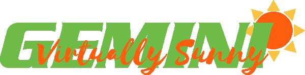 Gemini Virtually Sunny Logo-gr