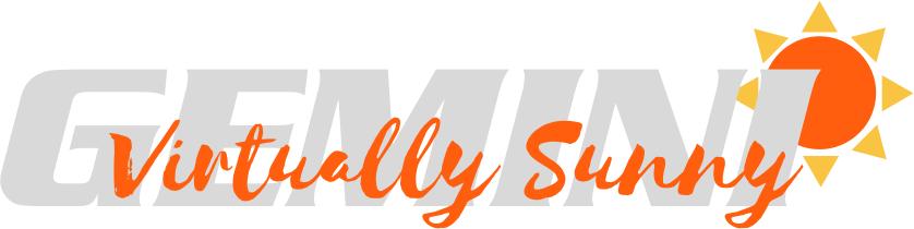 Gemini Virtually Sunny Logo
