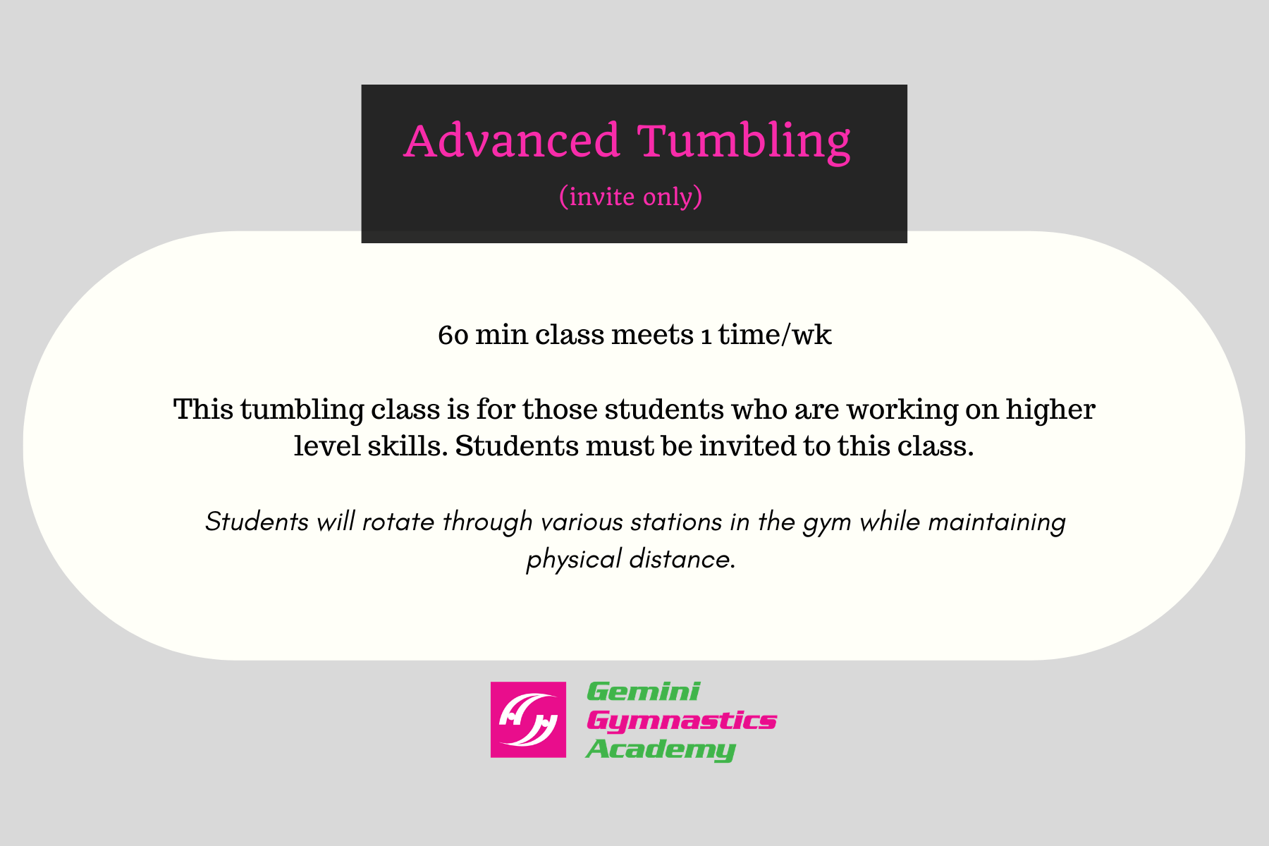 Advanced Tumbling