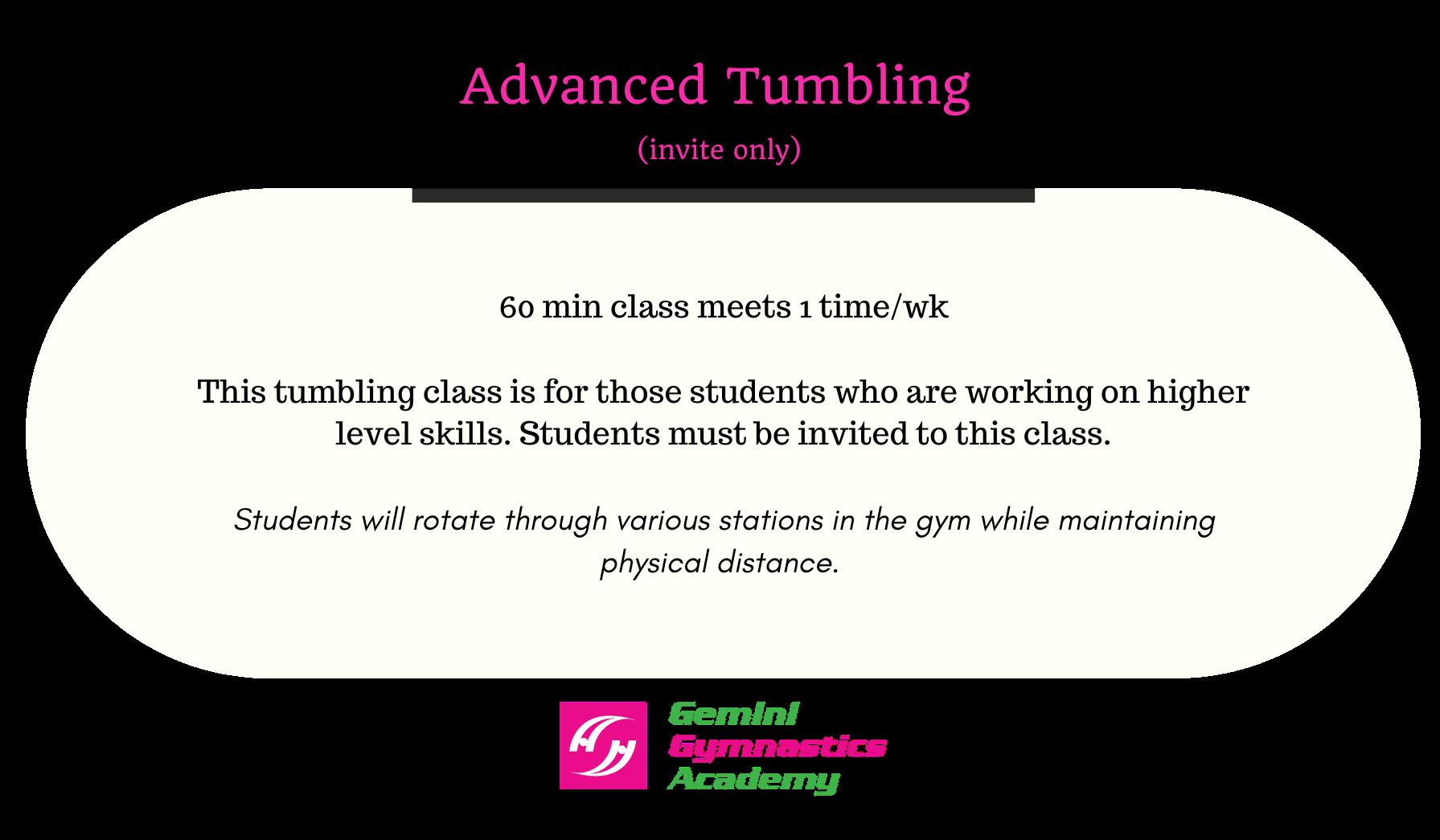 Adv tumbling