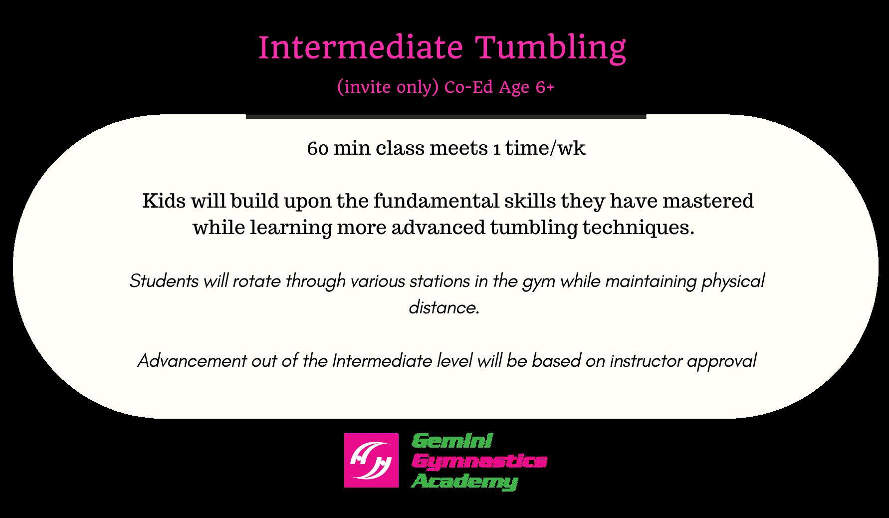 Int tumbling